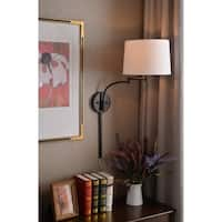 Siete Wall Swing Arm Lamp - Oil Rubbed Bronze