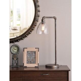Design Craft Piper Desk Lamp - Vintage Metal