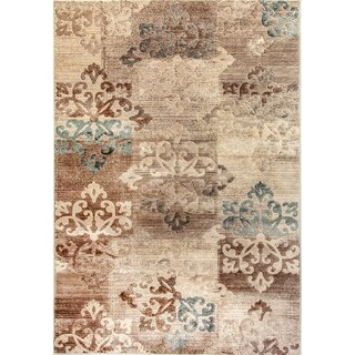 Treasure 2 Medallion Area Rug - 2' x 3'5""