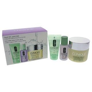 Clinique 3-Step Skin Care System Dry Combination Skin Type 3-piece Set