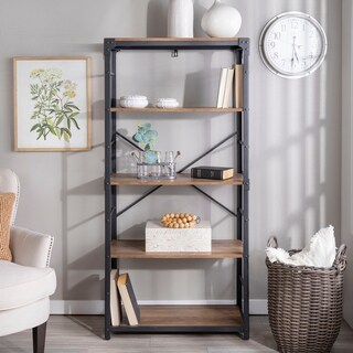 64 inch Urban Angle Iron Bookshelf