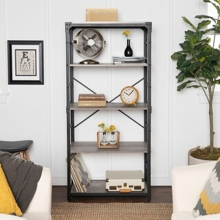 64 inch Urban Angle Iron Bookshelf