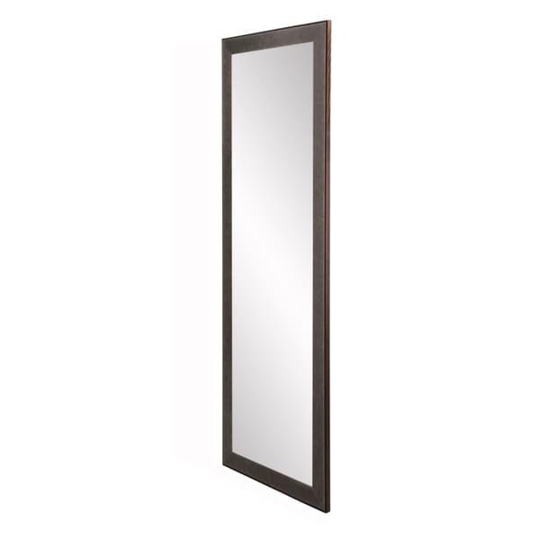 Industrial Floor Mirror: Shop Industrial Metal Slim Floor Mirror