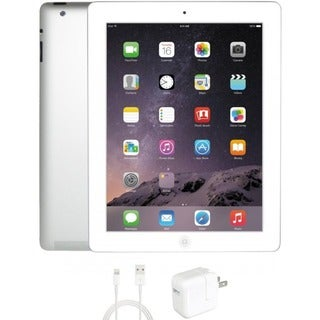 eReplacements Refurbished Apple iPad 4 32GB WiFi White 1 Year Warrant