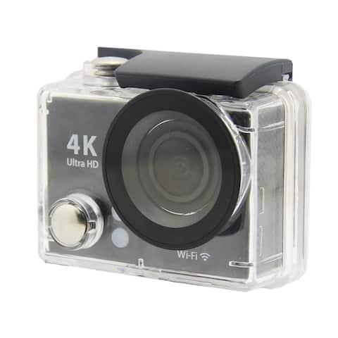 "Naxa NDC-406 Digital Camcorder - 2"" LCD - CMOS - 4K - Black"