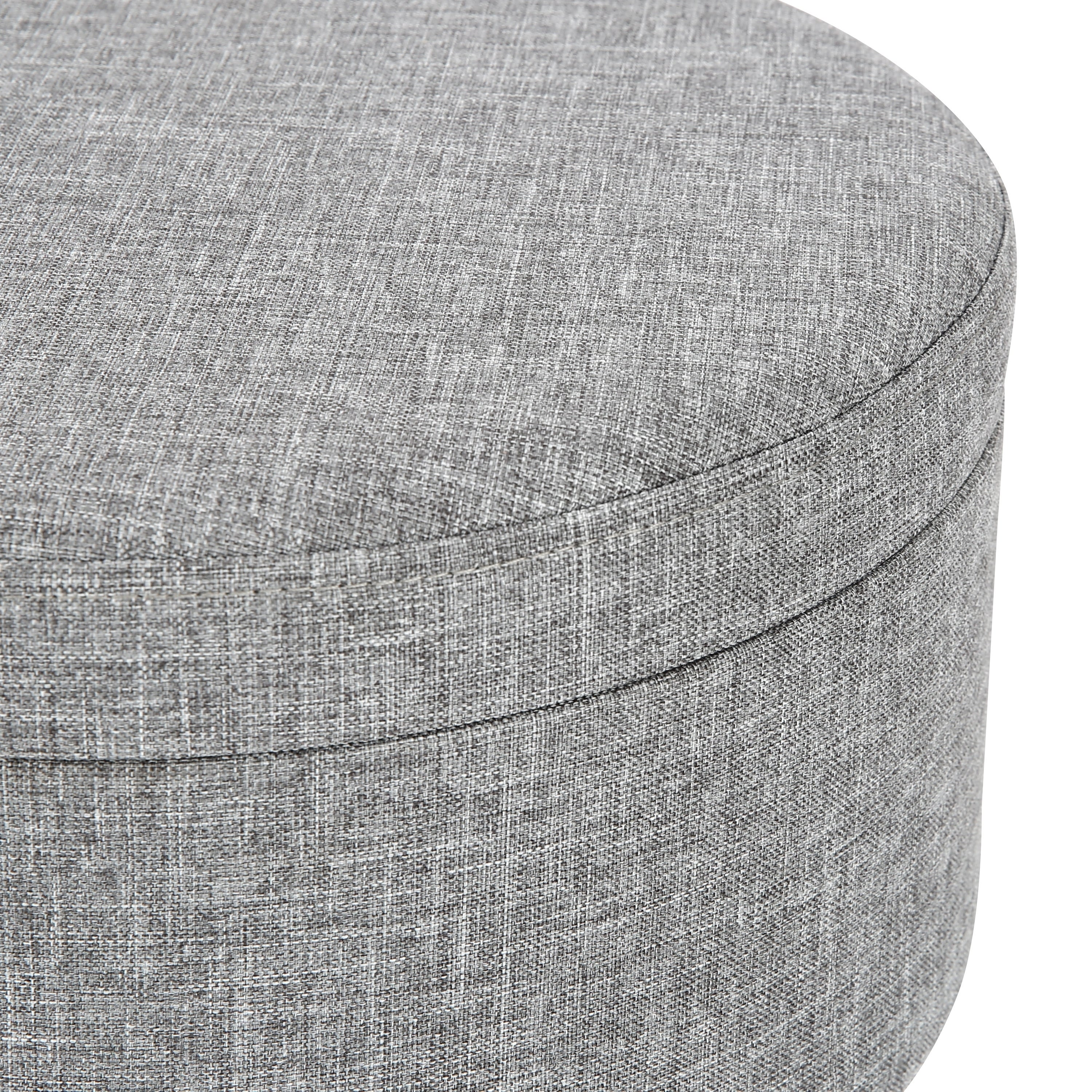 Amazing Poly And Bark Hattie Small Round Storage Stool Short Links Chair Design For Home Short Linksinfo