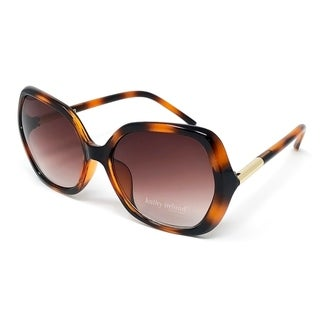 Kathy Ireland Women's Oversized Tort frame Sunglasses