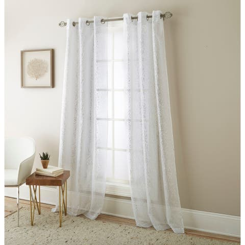Nanshing Speckles Panel Curtain Pair