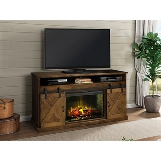 The Gray Barn Sycamore Rise 66-inch Fireplace Console