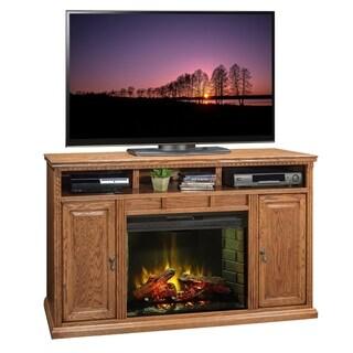 Copper Grove Millau Oak 62-inch Fireplace Console