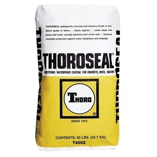 Thoro Thoroseal Waterproof Coating White 50 lb.