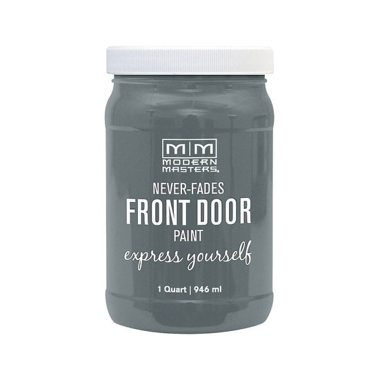 Modern Masters Interior Exterior Water Based Front Door Paint Mysterious Satin 1 Qt Deep Tone Base Free Shipping Today 27167453