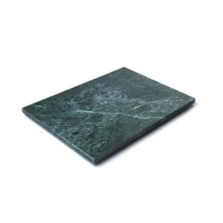 Fox Run Brands Marble Pastry Board, Green - 12 x 16 x 5