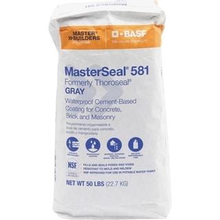 BASF MasterSeal 581 Gray Cement-Based Waterproof Coating 50 lb.
