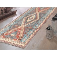 Venesia Vintage Multi-Colored Soft Pile Runner - 2'3 x 7'