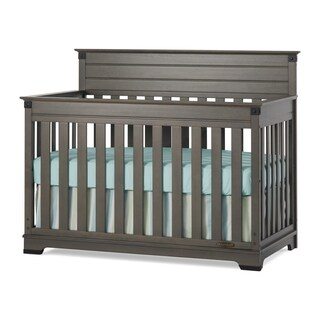 Redmond 4-in-1 Convertible Crib - Dapper Gray