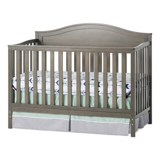 Sidney 4-in-1 Convertible Crib, Dapper Gray