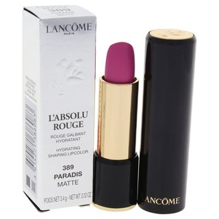 Lancome L'Absolu Rouge Hydrating Shaping Lipcolor 389 Paradis Matte