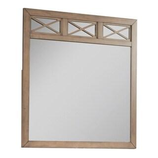 Hillsdale Randall Mirror - Beige/Brown