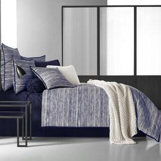 Five Queens Court Felix Indigo 4 Piece Comforter Set