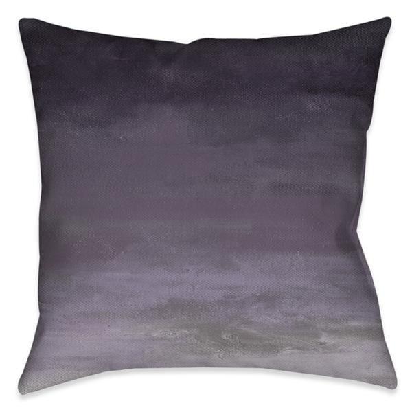 Laural Home Soft Deep Lavender Indoor Decorative Pillow