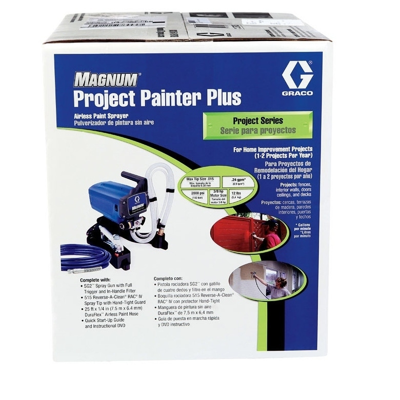 Graco Magnum 25 ft Airless Hose Paint Sprayer Work Tool Accessories x 1//4 in