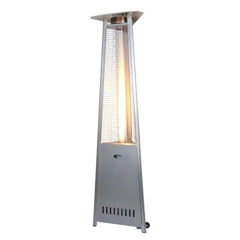 Zen Temp Outdoor Patio Heater 3 Sided Gl Ng Stainless