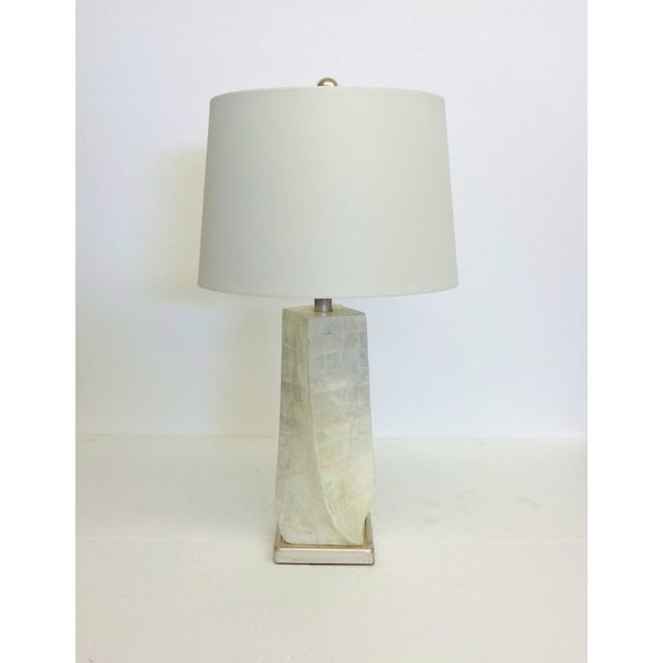 Twirl Mother of Pearl Table Lamp