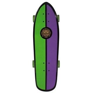 "Speed Demons Fishtail Crusier Complete Skateboard (27"" x 8.75"") - Purple"