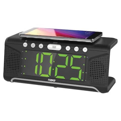 Naxa NRC-190 Clock Radio - Stereo