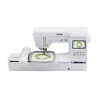 Brother SE1900, Combination Sewing and Embroidery Machine with 5x7 Embroidery Field and Large Color Touch LCD screen