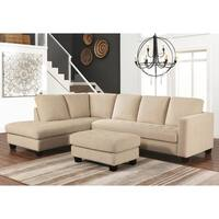 Abbyson Kenton Fabric  Sectional Set