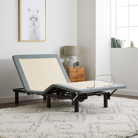 Select Luxury Adjustable Bed Base with Wireless Remote - Twin XL