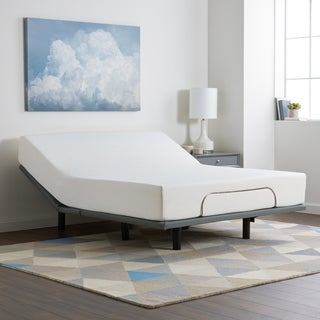 Select Luxury 10-inch Queen-size Gel Memory Foam Mattress and Adjustable Base Set