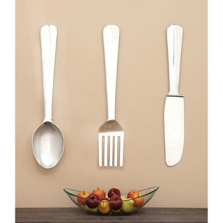 Copper Grove Seymour Aluminum Utensil Wall Ornaments (Set of 3)