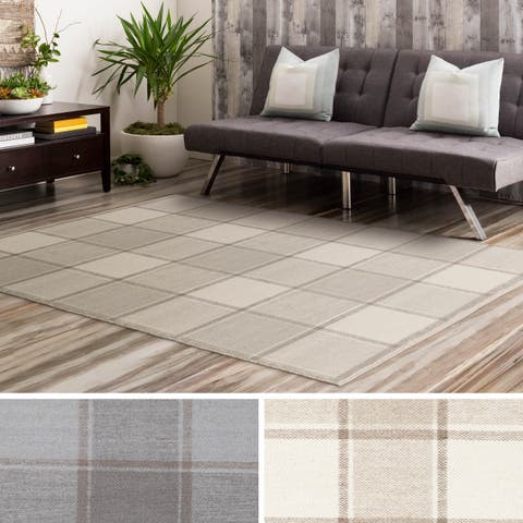 Carbon Loft Hahn Geometric Wool Area Rug