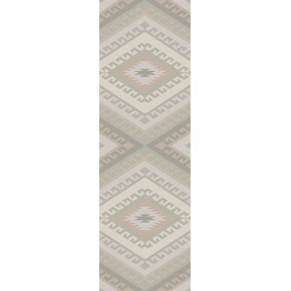 The Curated Nomad Fiesta Bridle Wool Area Rug
