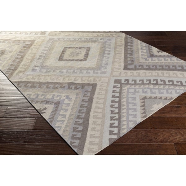 The Curated Nomad Madrona Bridge Wool Area Rug - 8' x 10'