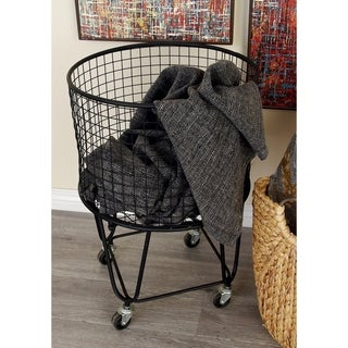 Oliver & James Buri Rolling Storage Basket
