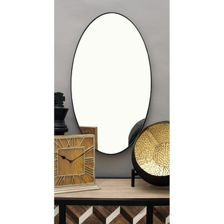 Porch & Den Merrie Lynn Oval Wall Mirror