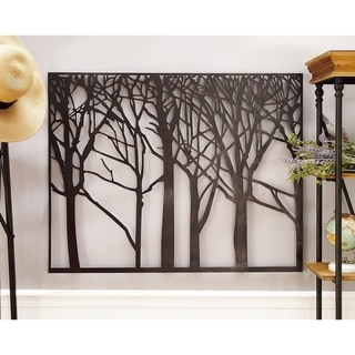 Carbon Loft Mackintosh Metal Tree Wall Art
