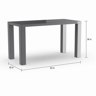 Strick & Bolton Mander 63-inch Grey Dining Table