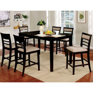 Copper Grove Ewart 7-piece Counter Height Upholstered Dining Set