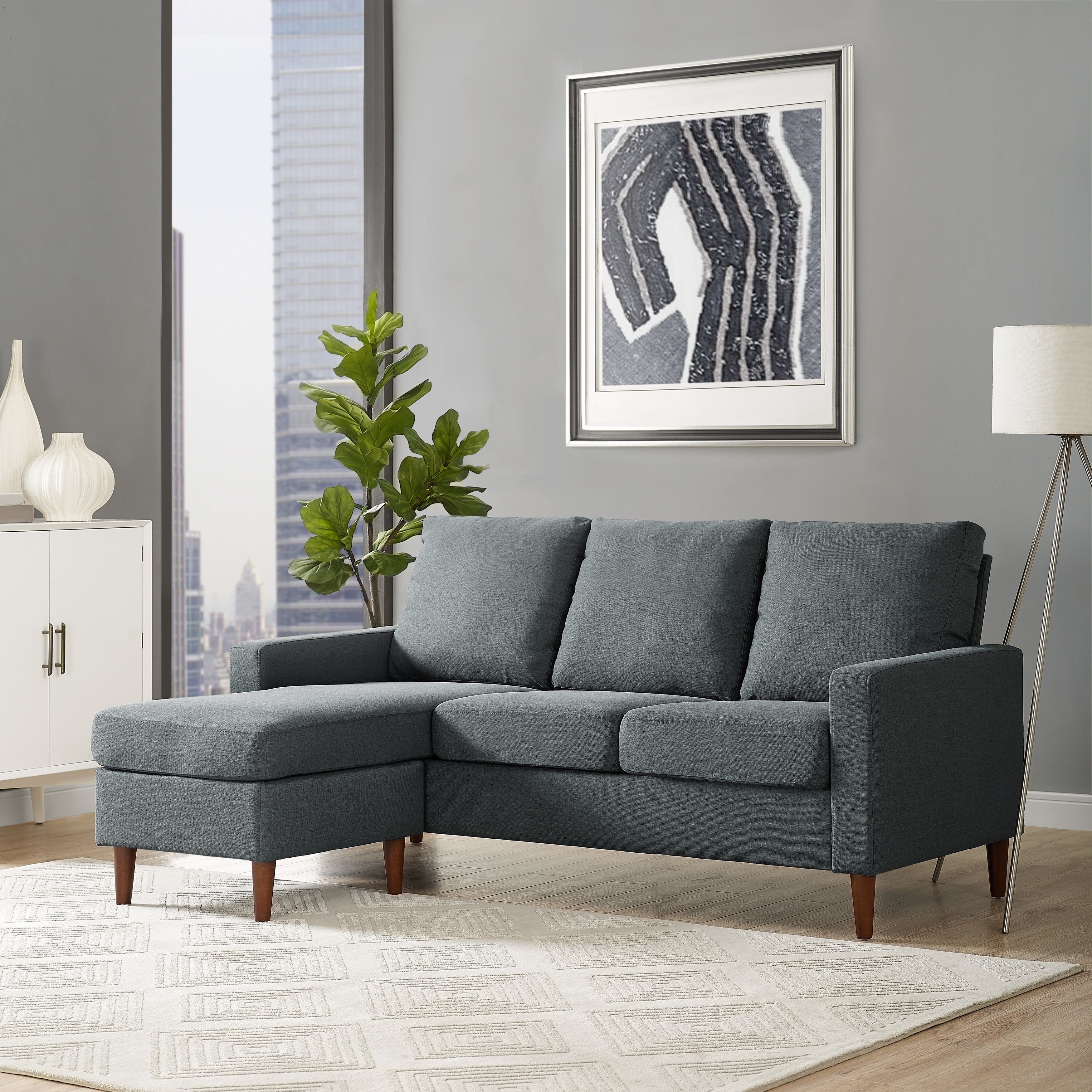 Porch U0026 Den Apartment Reversible Sectional