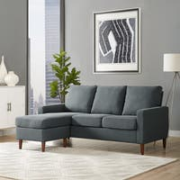 Porch & Den Apartment Reversible Sectional