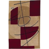 Oliver & James Memling Contemporary Wool Area Rug - 8' x 11'