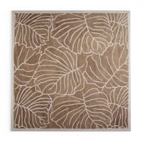 Pine Canopy Bogs Mountain Gray Wool Area Rug - 8' Square