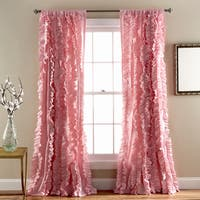 Gracewood Hollow Quist Ruffled Curtain Panel