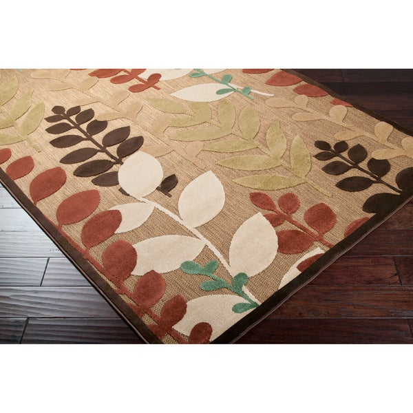 "Copper Grove Sierra Floral Area Rug - 5' x 7'6""/Surplus"