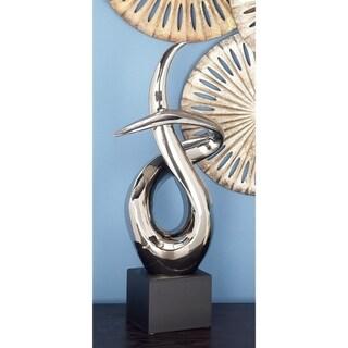 Strick & Bolton Buri Abstract Silver Sculpture